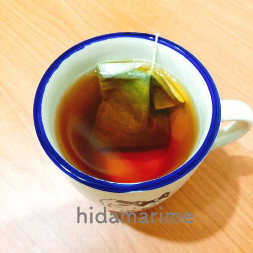 美爽煌茶(びそうこうちゃ)を煮出す