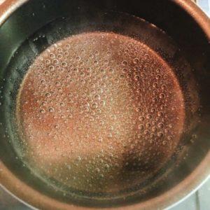 お湯を沸かせる