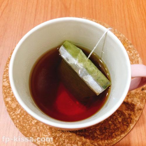 美爽煌茶(びそうこうちゃ)の煮出し時間1分
