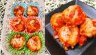 はんぺん入りふわふわ鶏つくねをトマトチーズソースで!煮込みは時短で!